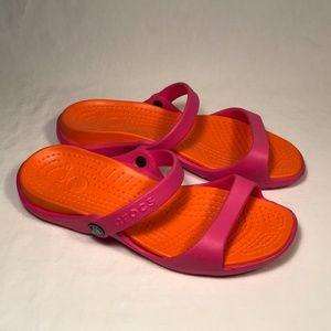 Crocs Cleo Slide Sandals Women Size 9